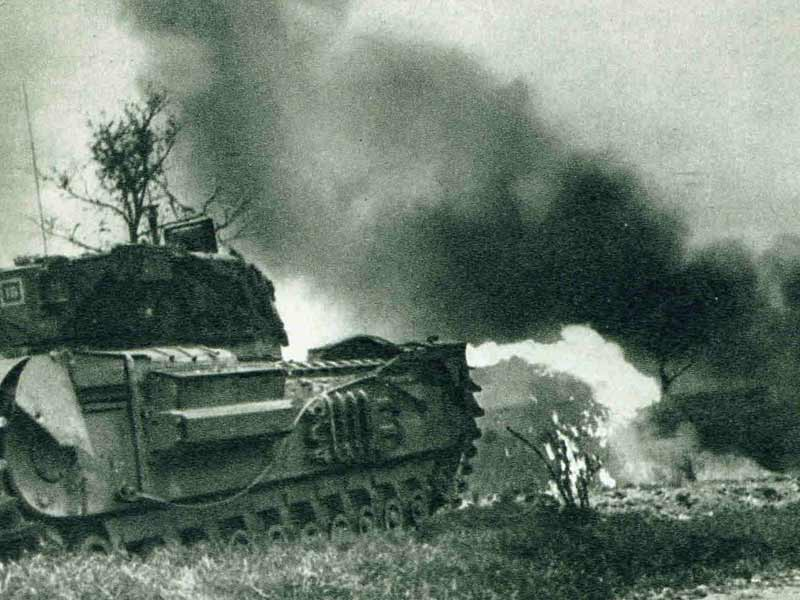 Flame Thrower Tank