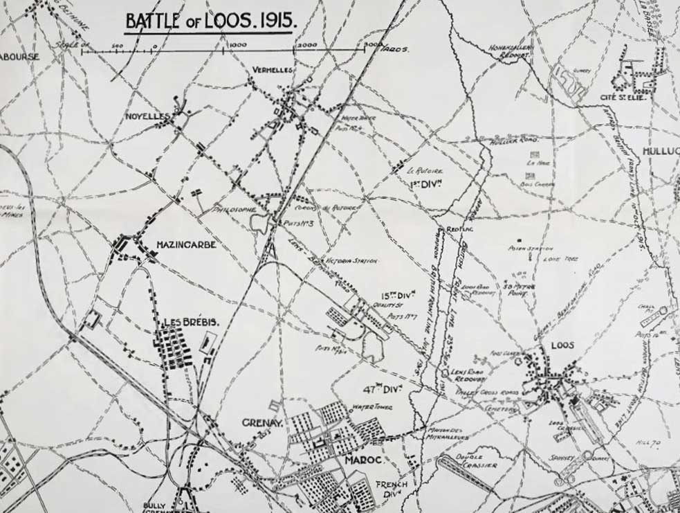 Battle of Loos, 1915