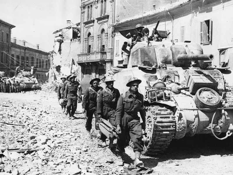 M4 Sherman in Italy 1945