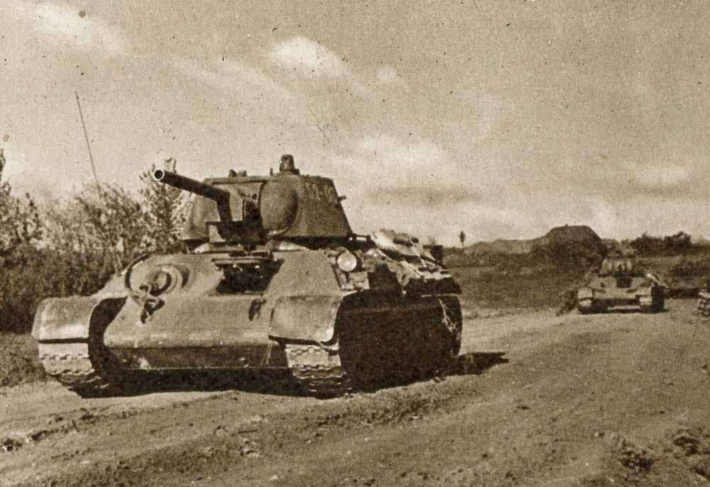 T34 on the Eastern Front