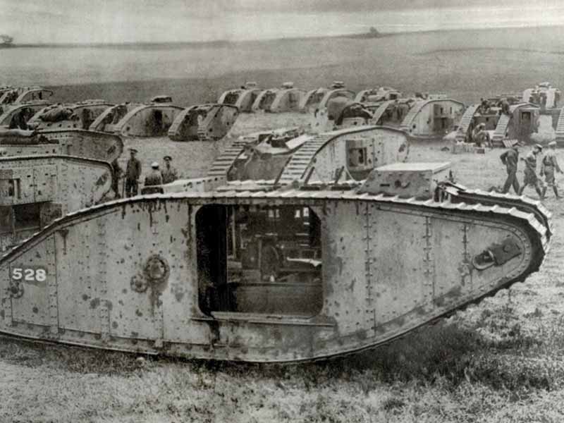 Tank squadrons on the Western Front
